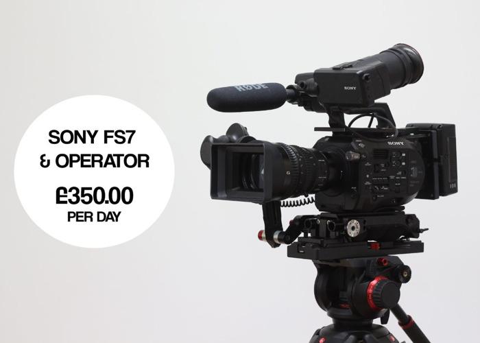 FS7 Camera & Operator  - 1