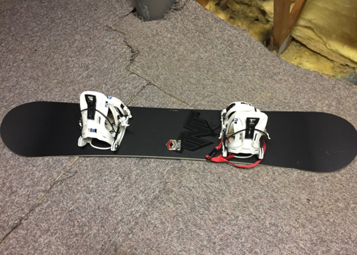 FTWD Snowboard Bindings And Boots - 1