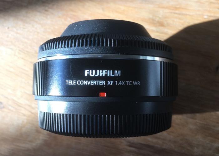 "Fuji 1.4 x Teleconverter ""Get just a bit closer"" - 1"