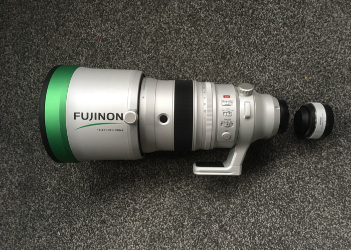 Fuji 200mm F2 Monster Glass with 1.4x Converter - 1
