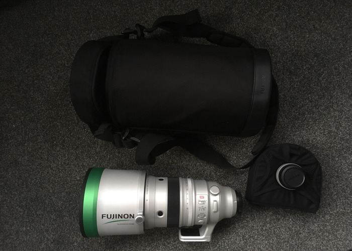 Fuji 200mm F2 Monster Glass with 1.4x Converter - 2