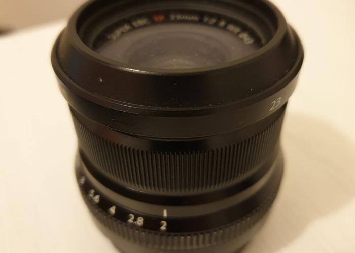 Fuji 23 mm R WR lens - 2