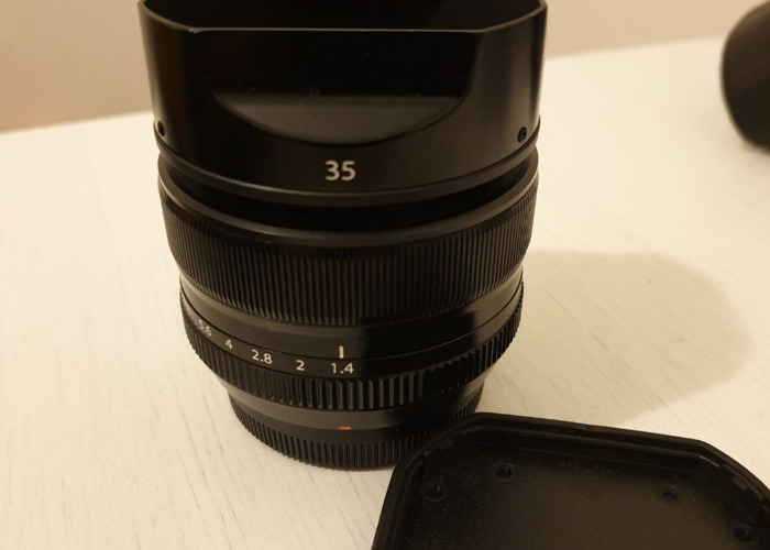 Fuji 35 mm f1.4.Superb prime lens  - 2