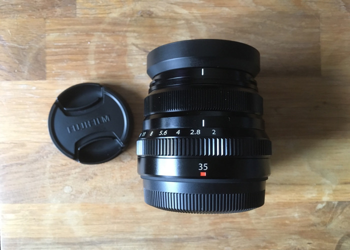Fuji 35mm F2 WR lens The midget Gem! - 1