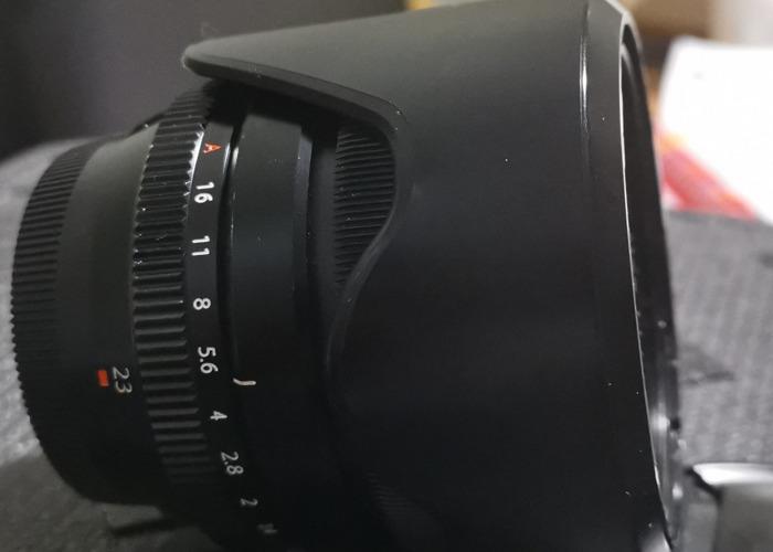 Fuji Film 23mm 1.4  - 2