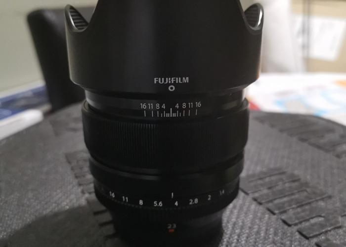 Fuji Film 23mm 1.4  - 1