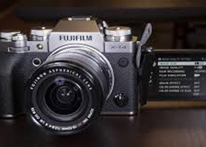 fuji film xt4 silver 26mp and 4k vid like xt3 but gr8 video  - 1