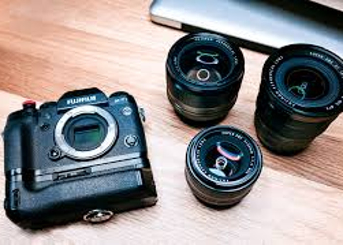 Fuji lens combo 16-50 and 50-230 + memory card - 1