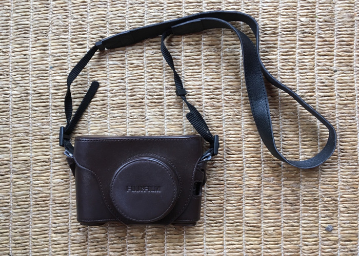Fuji X100S Camera with Branded Leather Case - 2