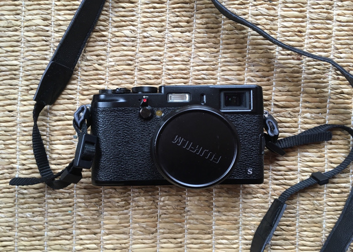 Fuji X100S Camera with Branded Leather Case - 1
