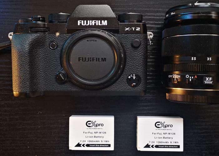 Fuji X-T2 + XF 18-55mm Kit Lens - 2