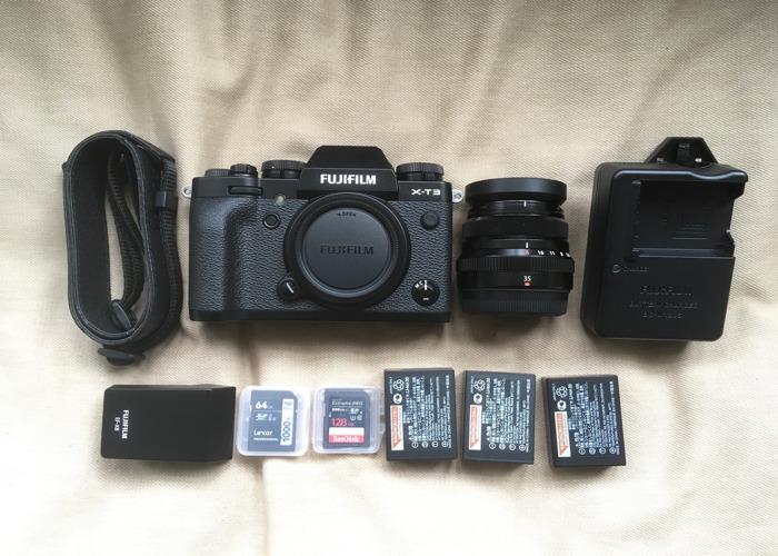 Rent Fuji XT3 + 35mm Lens Supreme Stills & Video Camera in