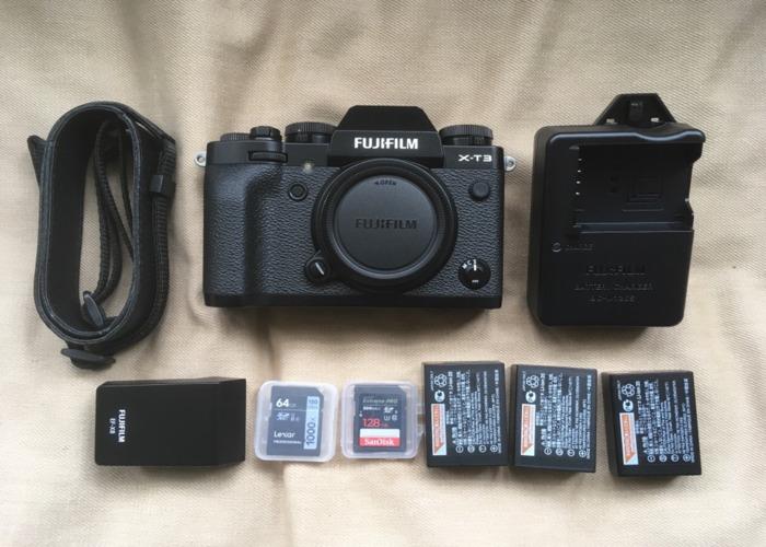 Fuji X-T3 superb stills & Video - 2