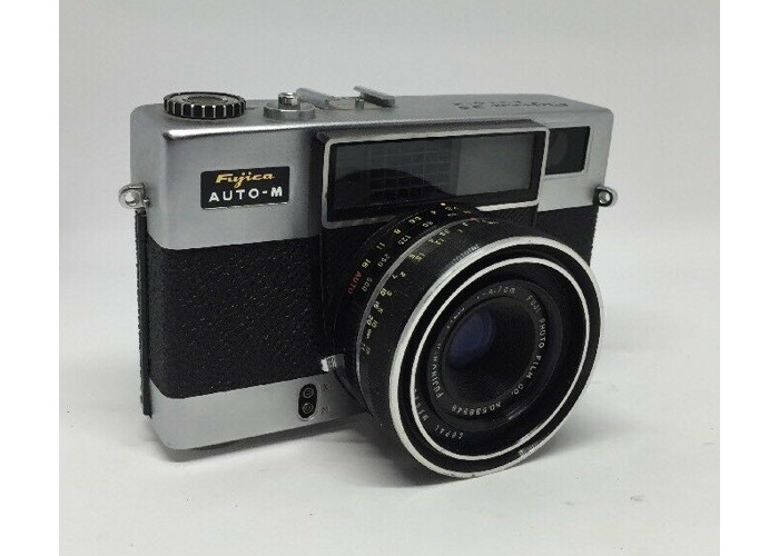 Fujica 35 Auto-W 35mm Film Camera w/1:2.8 Lens Tested  working condition 5 - 1