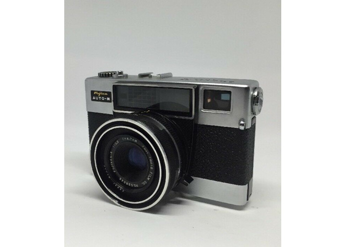 Fujica 35 Auto-W 35mm Film Camera w/1:2.8 Lens Tested  working condition 5 - 2
