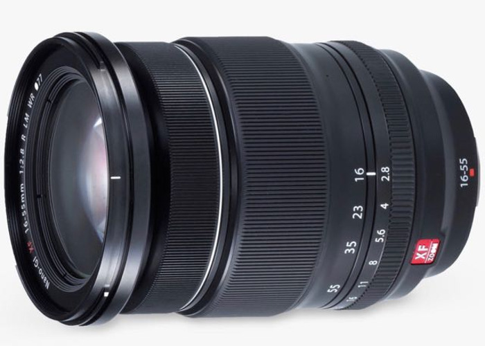 Fujifilm  XF zoom- 16-55mm - F/2.8  - 2