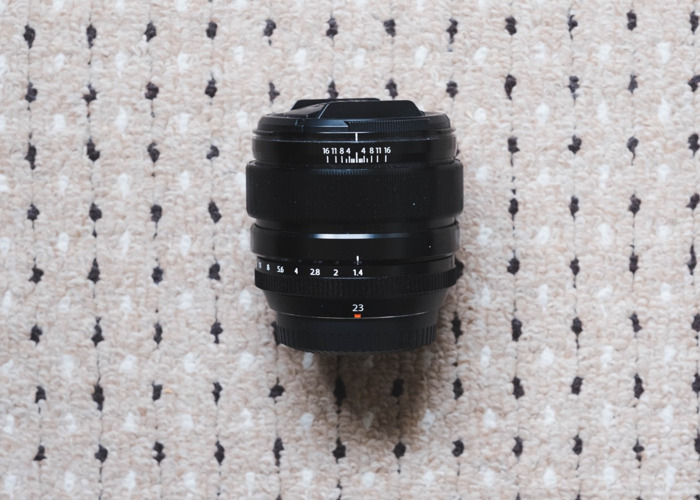 Fujifilm 23mm f/1.4 lens - 2