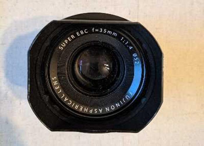 Fujifilm 35mm f1.4 - 1