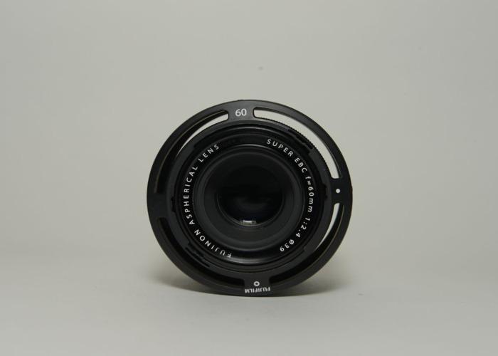 Fujifilm 60mm f2.4 R Macro Fujinon Black Lens - 1