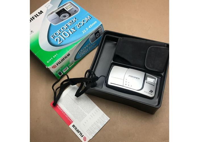 Fujifilm Fotonex 210ix Zoom APS Film Camera 22.5mm Wide Angle Panorama Lens - 1