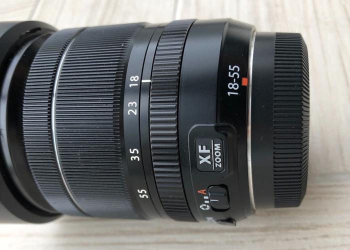Fujifilm FUJINON XF18-55 mm F2.8-4.0 lens - 2