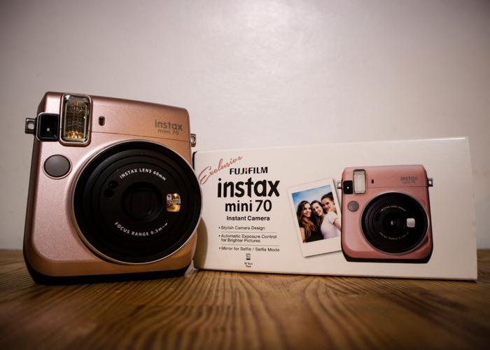 Fujifilm Instax Mini 70 Rose Gold - 1