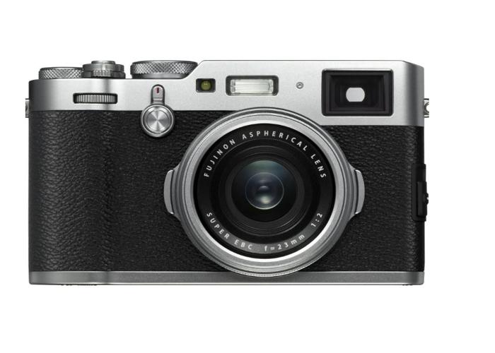 Fujifilm X100F 24.3 MP Compact Digital Camera - 1080P Silver - 1