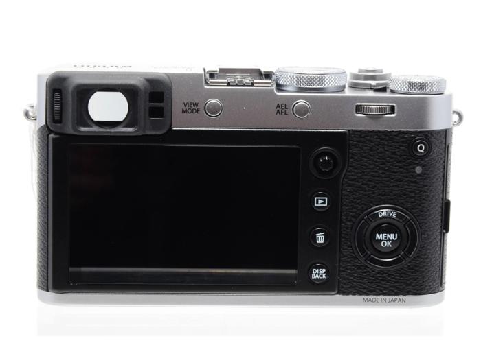 Fujifilm X100F 24.3 MP Compact Digital Camera - 1080P Silver - 2