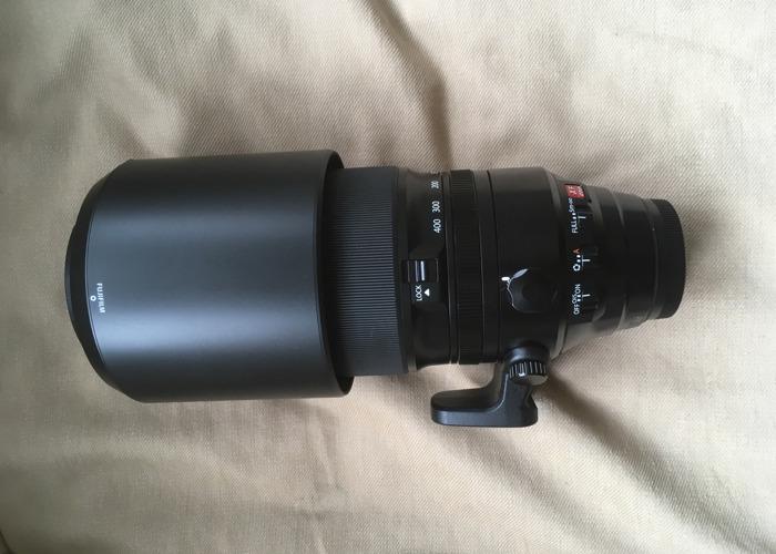 Fujifilm XF 100-400mm f/4.5-5.6 R LM OIS WR Lens - 1