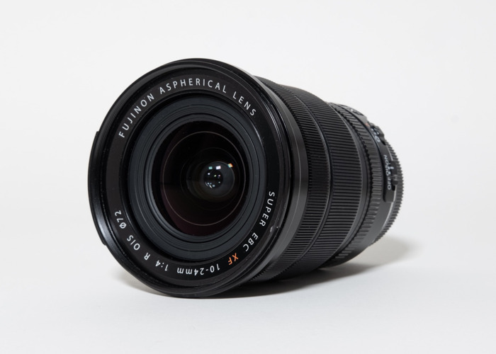 Fujifilm XF 10-24mm f4 OIS WR wide angle zoom lens - 1