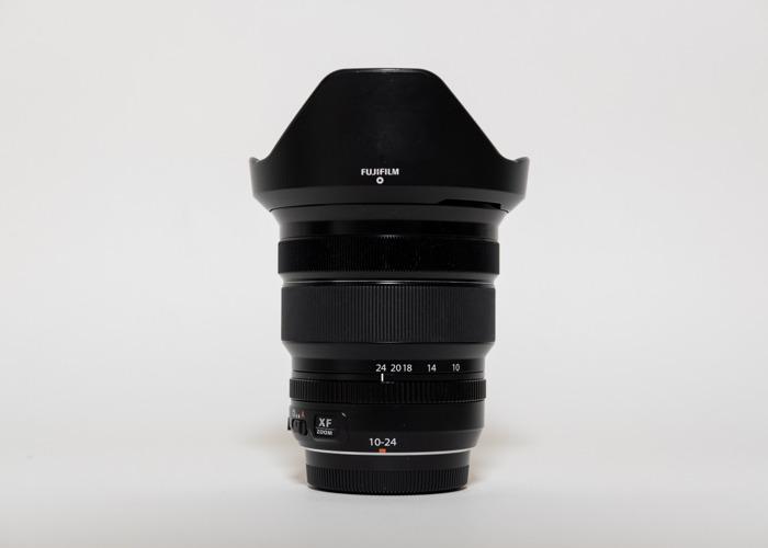 Fujifilm XF 10-24mm f4 OIS WR wide angle zoom lens - 2