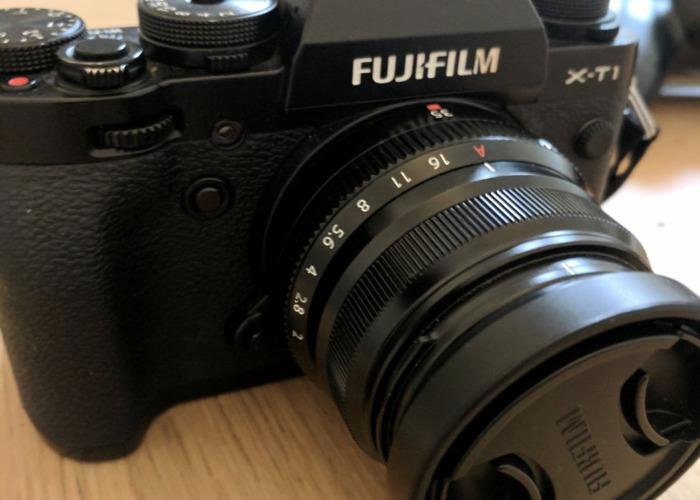 FujiFilm XF 35mm F2 WR Lens (Black) - 1