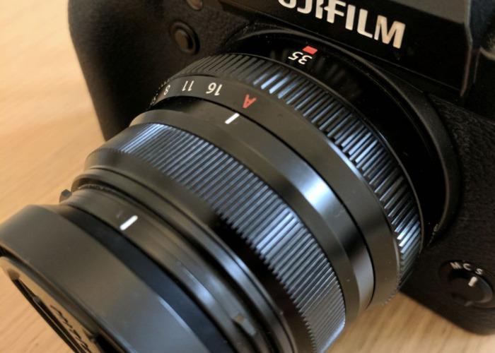 FujiFilm XF 35mm F2 WR Lens (Black) - 2