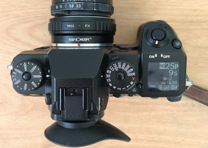 Fujifilm X-H1 body + manual lens - 2