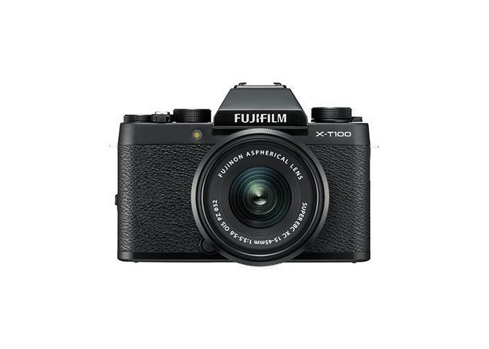 Fujifilm X-T100 Digital Camera with 15-45mm XC Lens - Black - 1