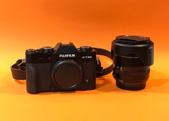 Fuji XT20  Mirrorless Camera with XF 18-55mm lens kit  - 1