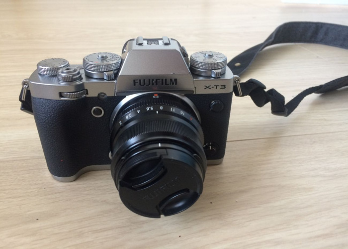 Rent Fujifilm XT3 body and 23mm f 2 lens KIT in London