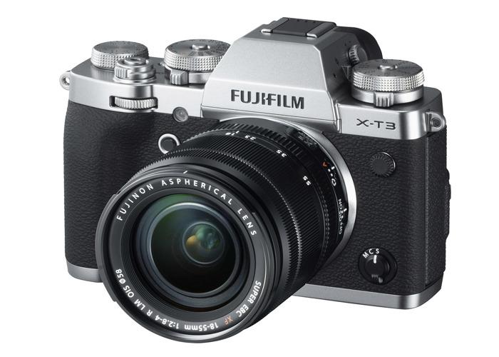 Fujifilm X-T3 Mirrorless Camera with 18-55 Lens - 1