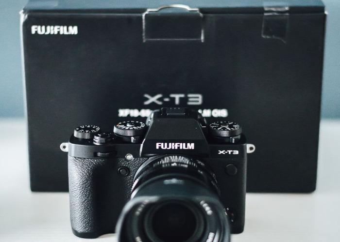 Fujifilm Xt3 with 18-55 lens - 2