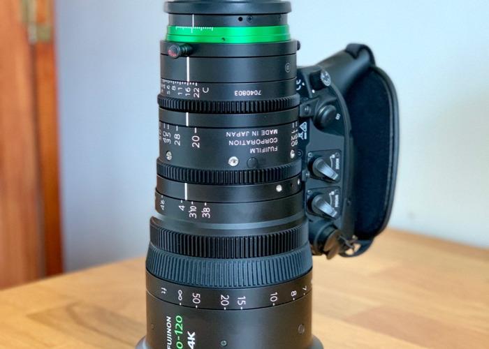 Fujinon 20-120mm / XK6x20 Cabrio Zoom Lens - 1