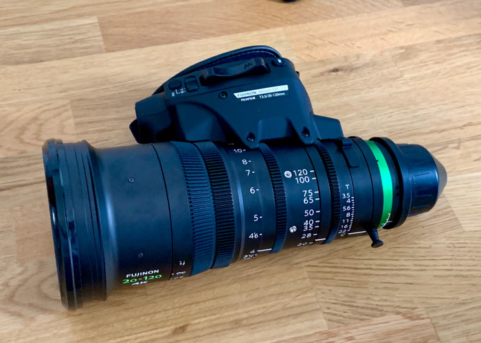 Fujinon 20-120mm / XK6x20 Cabrio Zoom Lens - 2