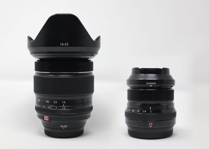Fujinon Lenses - XF 16-55mm f2.8 LM WR + XF 23mm f2 R WR - 1