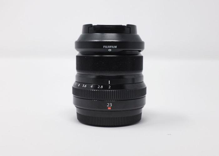 Fujinon Lenses - XF 16-55mm f2.8 LM WR + XF 23mm f2 R WR - 2