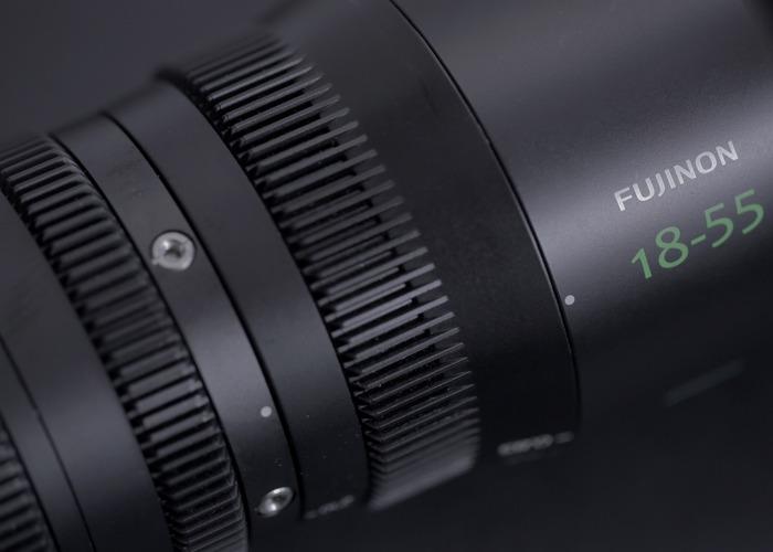 Fujinon MK Cine Lens Set 17-55 & 50 - 135 - 2