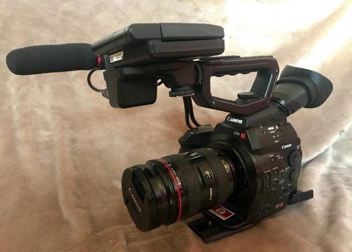 Full C300 Mk-i kit with lenses, mics & lighting - 1