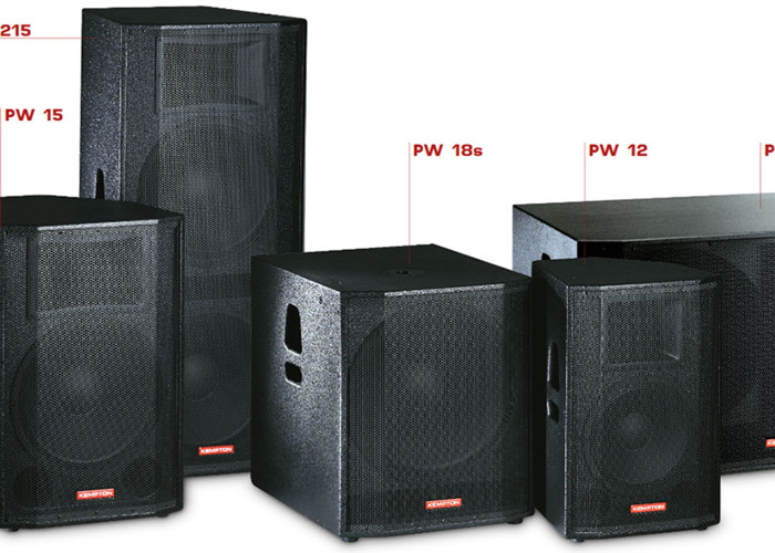 FREEBIES & Full FBT Kempton PA Sound system (two mid-top speakers & two subwoofers)  - 2