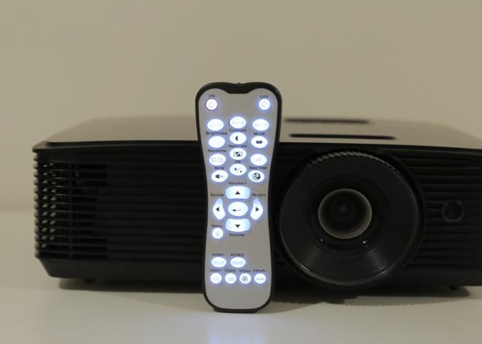 Bright HD Projector w/Remote 3200 Lumens - 2
