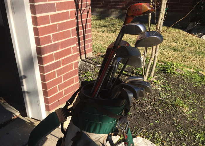 Full high quality golf clubs, bag and set - 2