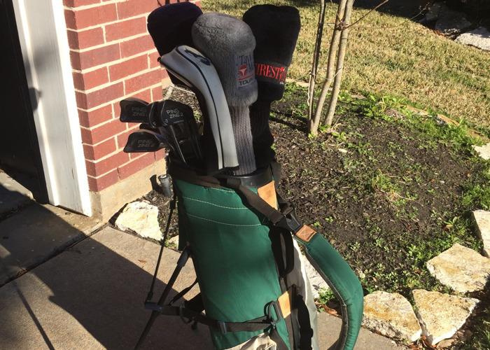 Full high quality golf clubs, bag and set - 1