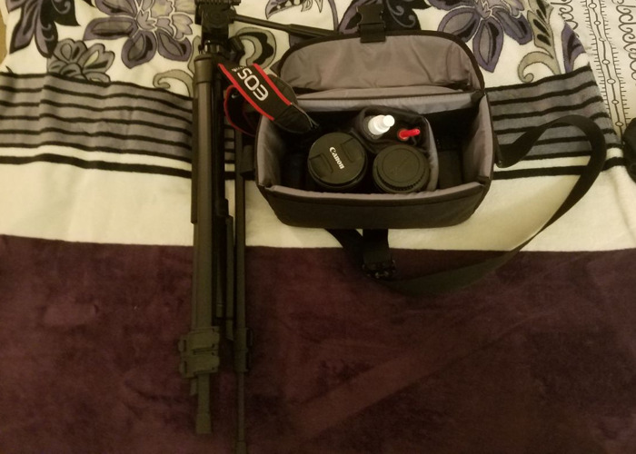 Canon EOS 70D DSLR Camera w/Two lenses and 48 inch tripod!  - 2